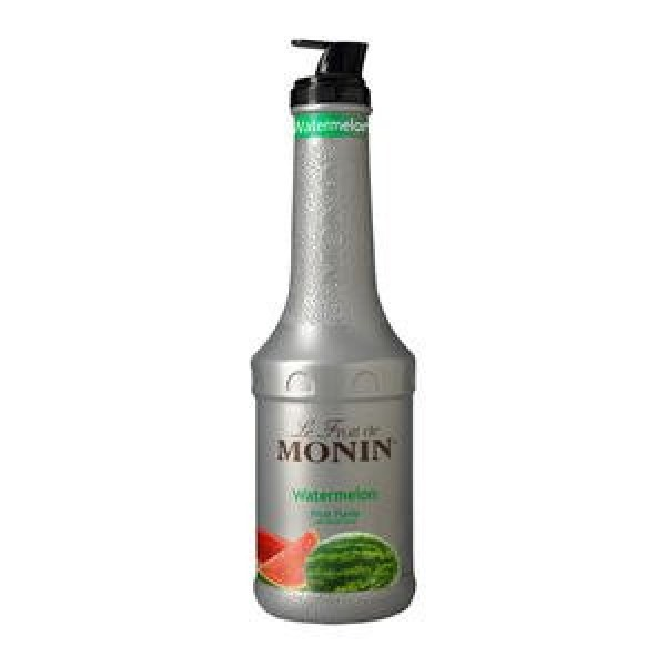 Monin - Watermelon Purée, Juicy and Sweet Flavor, Great for Teas...