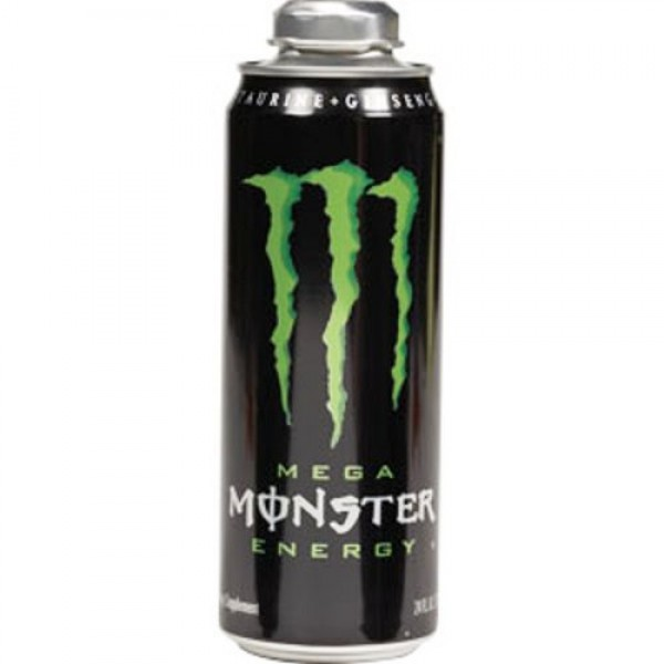 Mega Monster Energy Drink, 24-Ounce Cans Pack of 12