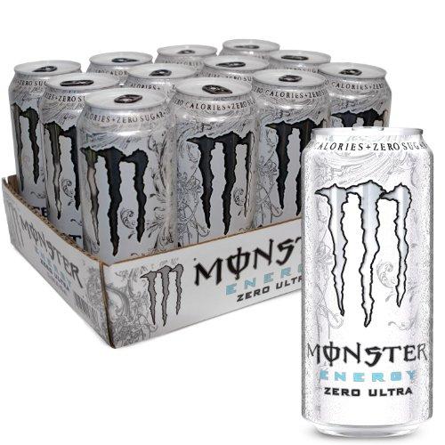 NNJWWPZX Zero Ultra, Sugar Free Energy Drink, 16 Ounce, 2 Cases ...