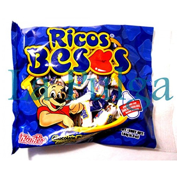 3 - Montes Ricos Besos Chocolate Flavor Toffees Mexican Candy 6 ...