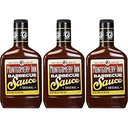 Montgomery Inn Barbecue Sauce 3 Pack 28oz Each