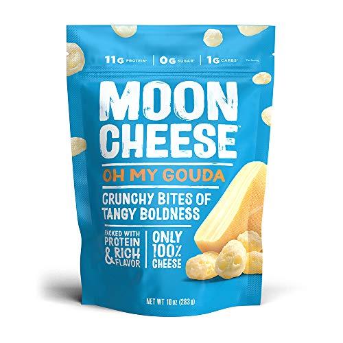 Moon Cheese Oh My Gouda, 100% Gouda Cheese Snacks, Crunchy Keto ...