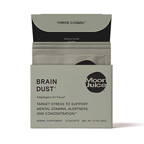Moon Juice - Organic Brain Dust Sachet Box (Edible Intelligence,...