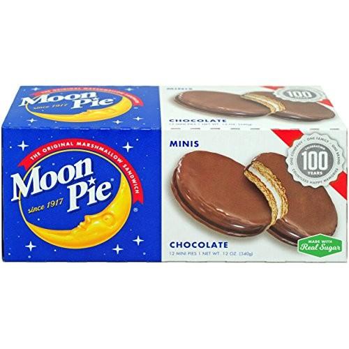 MoonPie Marshmallow Sandwich Minis Chocolate, Original, 12 Ounce