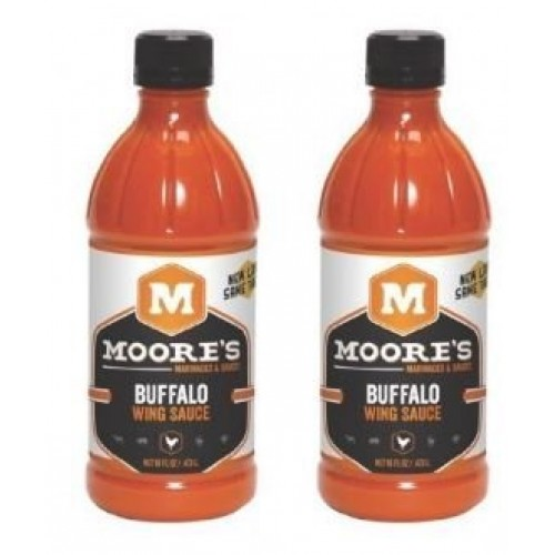 Moore Sauce Wing Buffalo 16 oz Pack of 2