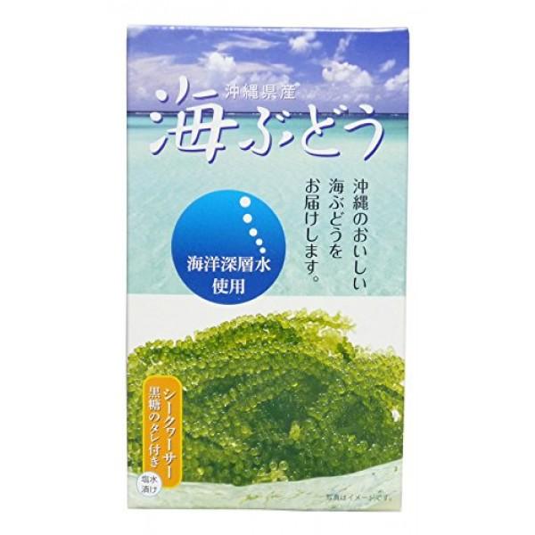 Deep ocean water use Okinawa Prefecture sea grapes 60gX3 boxes