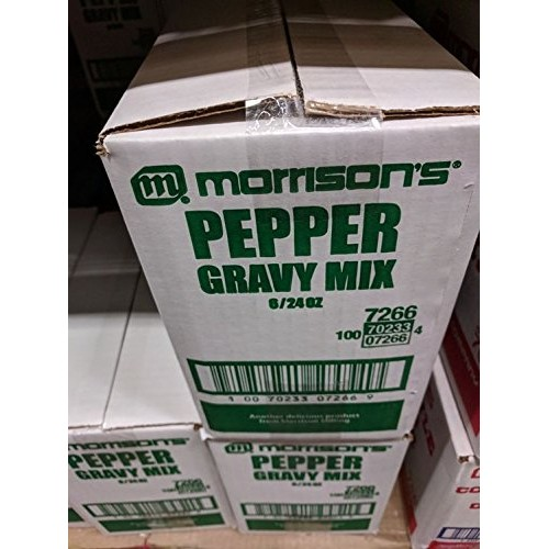 Morrisons Pepper Gravy Mix 24 Oz (6 Pack)