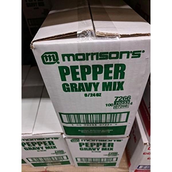 Morrisons Pepper Gravy Mix 24 Oz 6 Pack