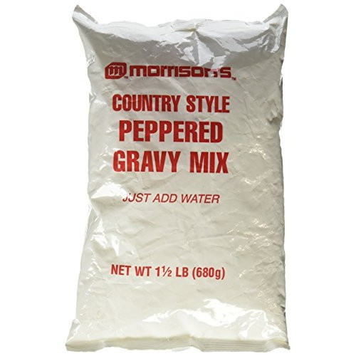 Morrisons Country Style Peppered Gravy Mix 1 1/2 Lb. Just Add W...