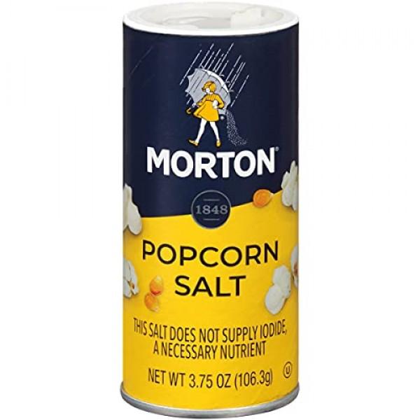 Morton Popcorn Salt, 3.75 Ounce