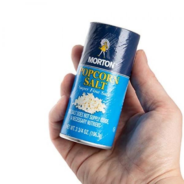 Morton Popcorn Salt Shaker Bulk Popcorn Seasoning Set 3.75oz Sup...