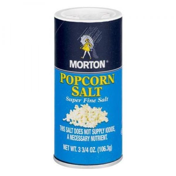 Morton: Salt Popcorn, 3.75 Oz Pack of 4