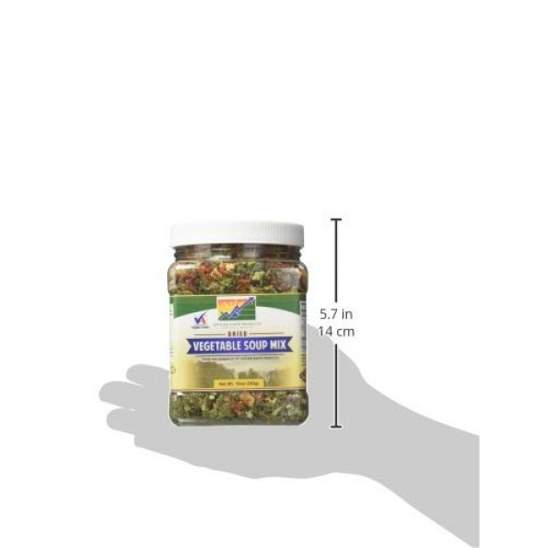 Mother Earth Products Dried Vegetable Soup Mix, 10oz 283g