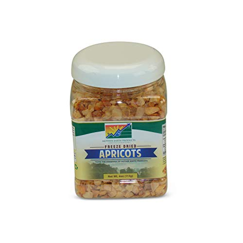Mother Earth Products Freeze Dried Apricots Jar, 4oz