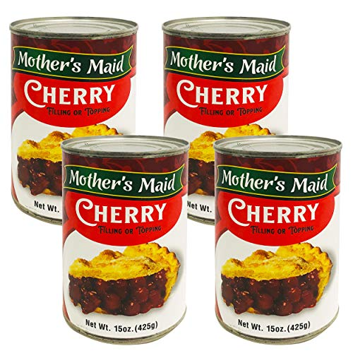 Cherry Pie Filling & Topping (Pack of 4-15oz) 60 ounces Total - ...