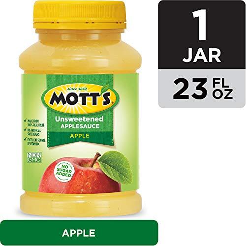 Motts Unsweetened Applesauce, 23 Ounce Jar