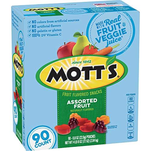 Motts Medleys Fruit Flavored Snacks, 90 ct.( 1 pack )