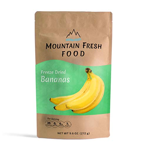 Mountain Fresh Food Freeze Dried Banana Chips | All Natural Heal...