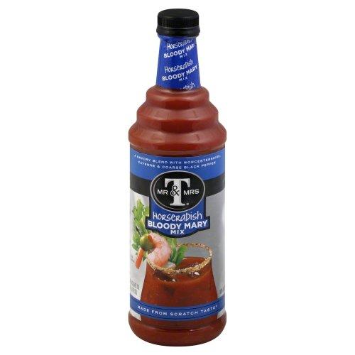 Mr & Mrs T Horseradish Bloody Mary Mix 6 Bottles