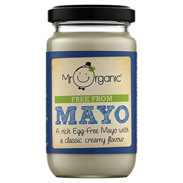Mr Organic Free From Mayo - 180g 0.4lbs
