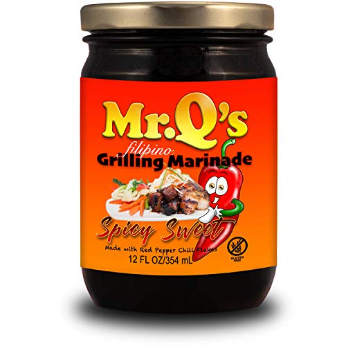 Mr. Qs Filipino Grilling Marinade Spicy Sweet Barbecue 12oz