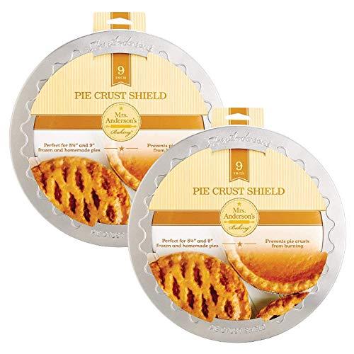 Mrs. Andersons 9 Pie Crust Baking Shield Protector Apple Cherr...