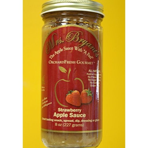 Strawberry Apple Sauce - Mrs. Bryants All Natural Strawberry Ap...