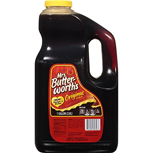 Mrs. Butterworths Syrup, Original, 128 Fl Oz