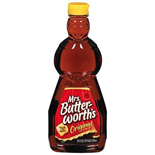 Mrs. Butterworths Syrup, Original, 24 Fl Oz