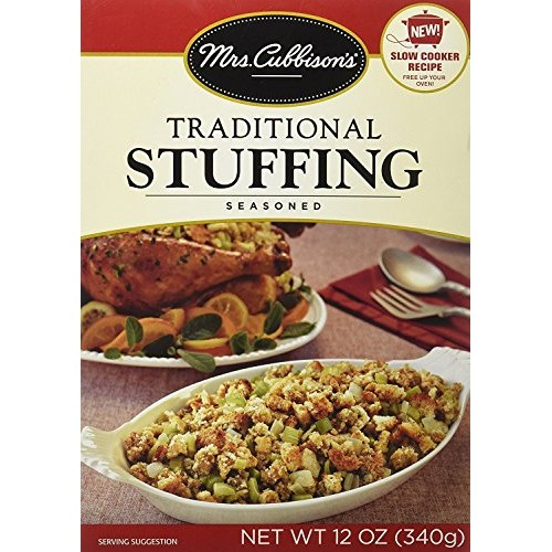 Mrs. Cubbisons Traditional Seasoned Stuffing Pack of 4