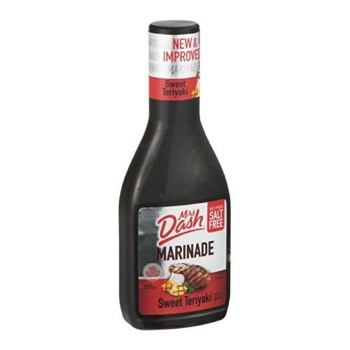 Mrs. Dash Marinade Salt-Free Sweet Teriyaki 12OZ Pack of 18