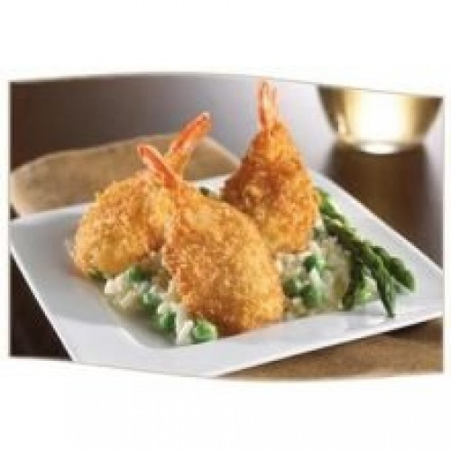 King and Prince Mrs.Fridays Breaded Fantail Shrimp - U/12, 2.5 P...