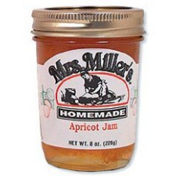 Mrs. Millers Homemade Apricot Jam
