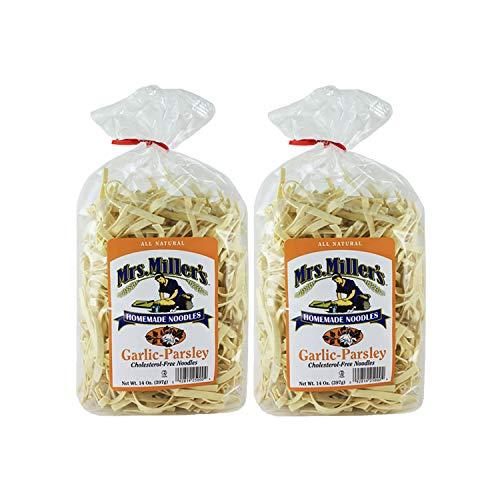 Mrs. Millers Homemade Garlic Parsley Noodles 14 oz. Bag 2 Bags