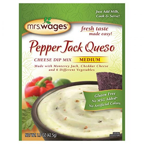 Pepperjack Queso Mix