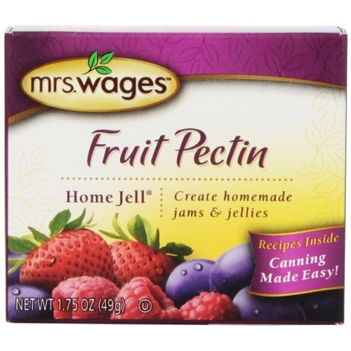 Mrs. Wages Home Jell Fruit Pectin, 1.75-Ounce Pouches Pack of 12