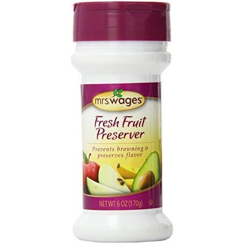 Mrs. Wages Fresh Fruit Preserver, 6-Ounce Shaker BottlePack of 6