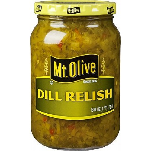 Mt. Olive Dill Relish 16 Oz (Pack of 3)