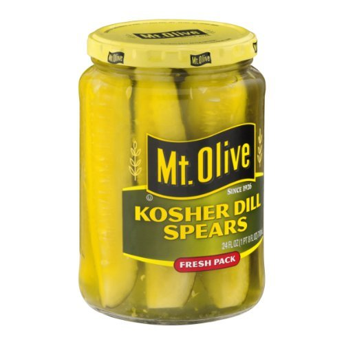 Mt. Olive Kosher Dill Spears 24 Oz Pack of 2