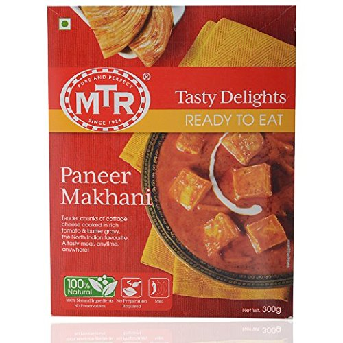 MTR Paneer Makhani Cottage Cheese in Spiced Tomato Puree, Read...
