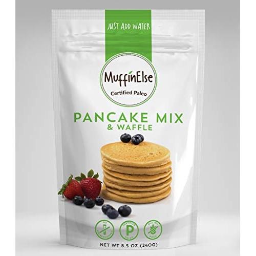 MuffinElse Paleo Pancake & Waffle Mix – Certified Paleo Pancake ...