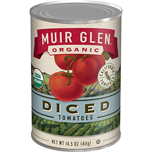 Muir Glen Canned Tomatoes, Organic Diced Tomatoes, No Sugar Adde...