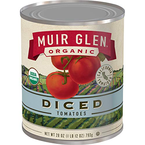 Muir Glen Canned Tomatoes, Organic Diced Tomatoes, No Sugar Adde...