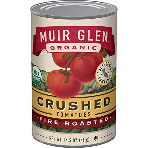 Muir Glen, Organic Crushed Fire Roasted Tomatoes, 14.5 oz