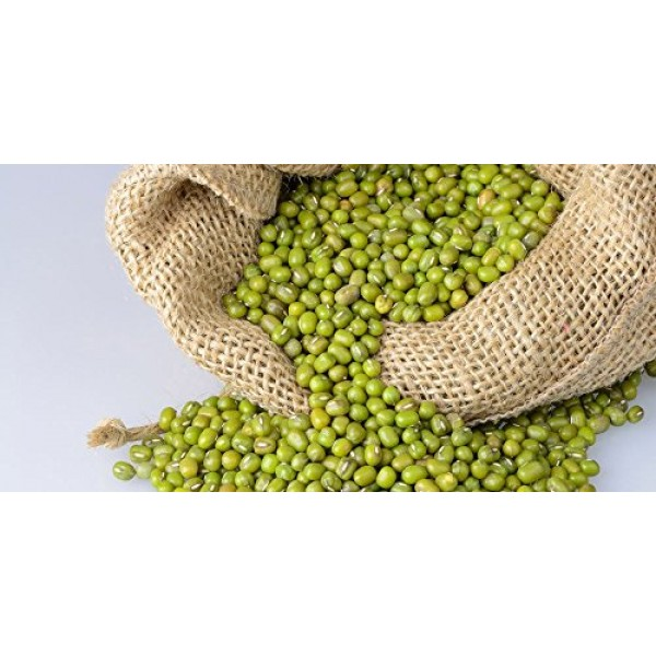 California Grown Organic Mung Beans 5 LB