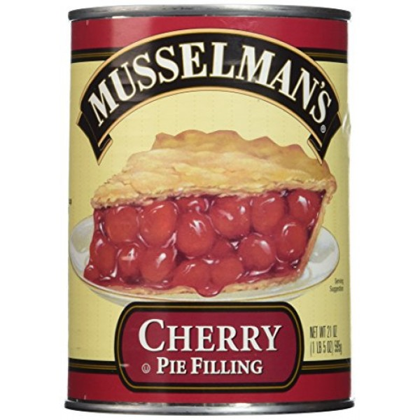 Musselmans Cherry Pie Filling,net wt 21 OZPack of 2