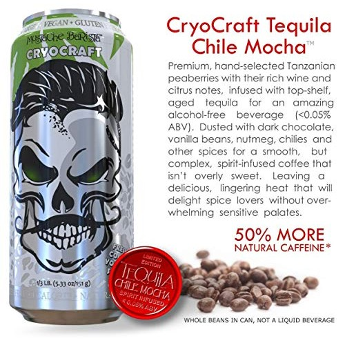 CryoCraft Spirit-Infused Whole Roasted Coffee Beans Limited Edit...