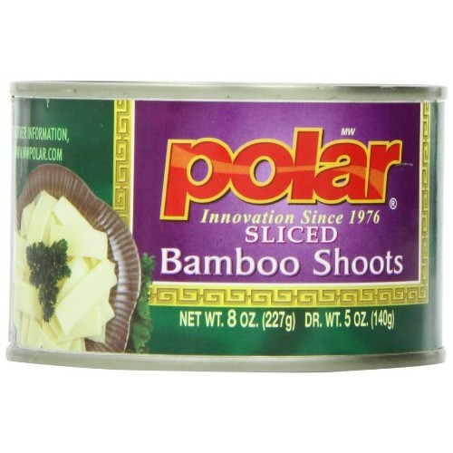 MW Polar Canned Vegetables, Sliced Bamboo Shoots, 8 Ounce Pack ...