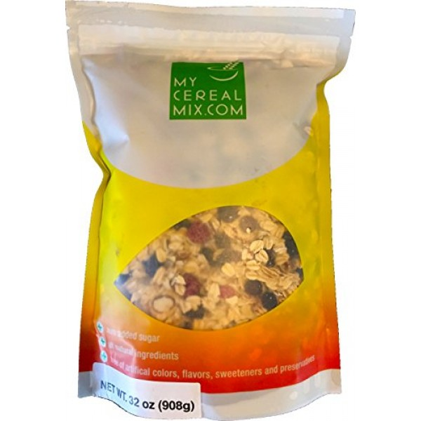 50% Nuts, Fruits and Seeds Muesli - No Sugar Added All Natural M...