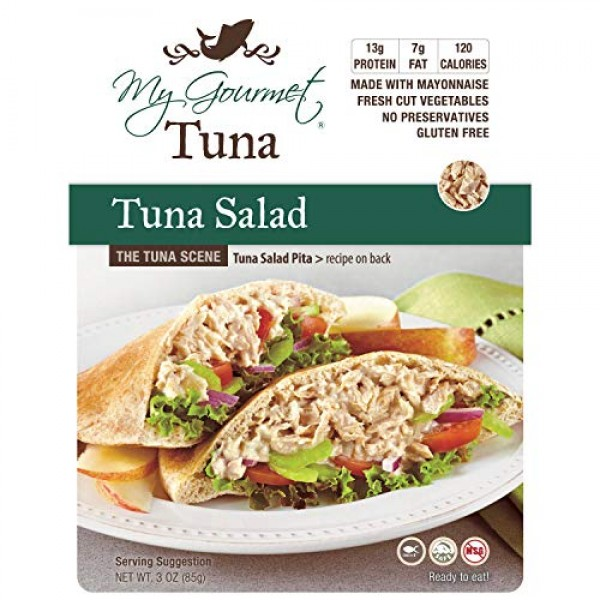 My Gourmet Products, Tuna Salad with a Crispy Crunch, Select Fla...